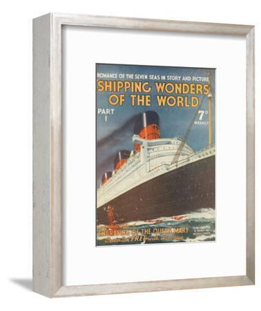 'Shipping Wonders of the World Part I advertisement', 1935-Unknown-Framed Giclee Print