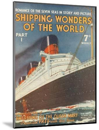 'Shipping Wonders of the World Part I advertisement', 1935-Unknown-Mounted Giclee Print