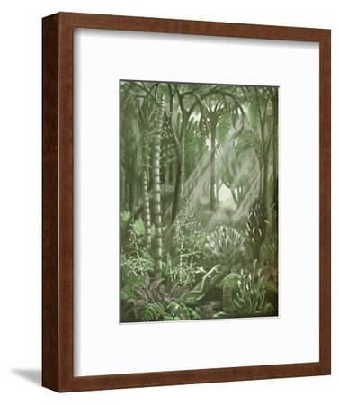'What the Mighty Coal Forests Were Like', 1935-Unknown-Framed Giclee Print