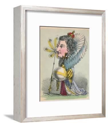 'Elizabeth', 1856-Alfred Crowquill-Framed Giclee Print