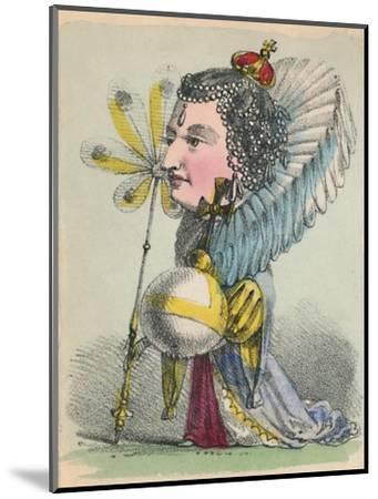 'Elizabeth', 1856-Alfred Crowquill-Mounted Giclee Print