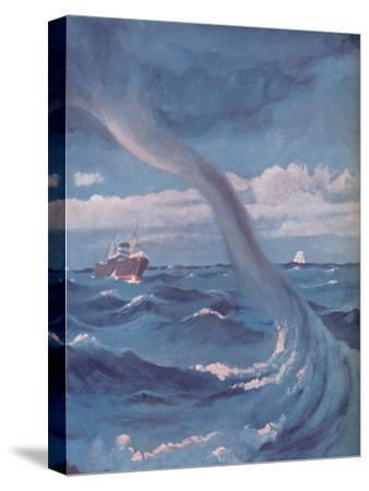 'The Waterspout That Joins Cloud and Sea', 1935-Unknown-Stretched Canvas Print