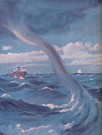 'The Waterspout That Joins Cloud and Sea', 1935-Unknown-Framed Giclee Print
