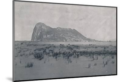 'Gibraltar', 1924-Unknown-Mounted Photographic Print
