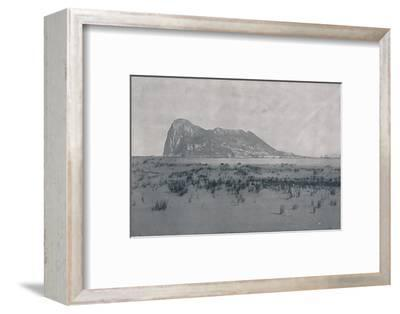 'Gibraltar', 1924-Unknown-Framed Photographic Print