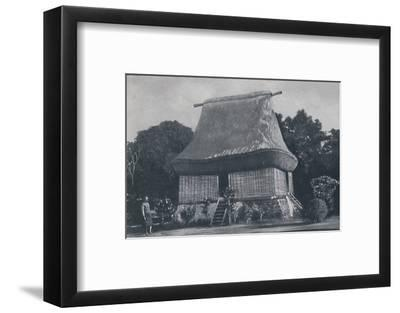 'Fijian House', 1924-Unknown-Framed Photographic Print