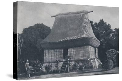 'Fijian House', 1924-Unknown-Stretched Canvas Print