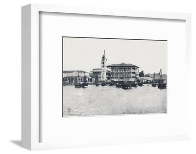 'Zanzibar', 1924-Unknown-Framed Photographic Print
