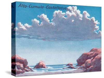 'Alto-Cumulo-Castellatus - A Dozen of the Principal Cloud Forms In The Sky', 1935-Unknown-Stretched Canvas Print