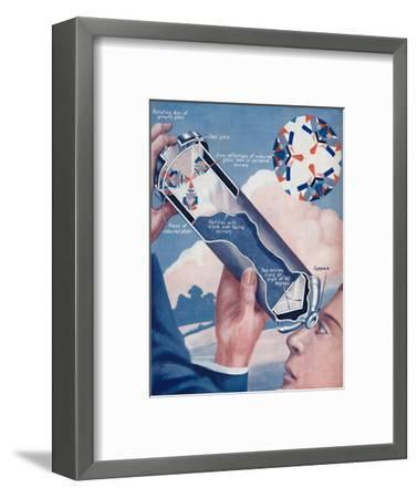 'How The Kaleidoscope Makes Its Patterns', 1936-Unknown-Framed Giclee Print