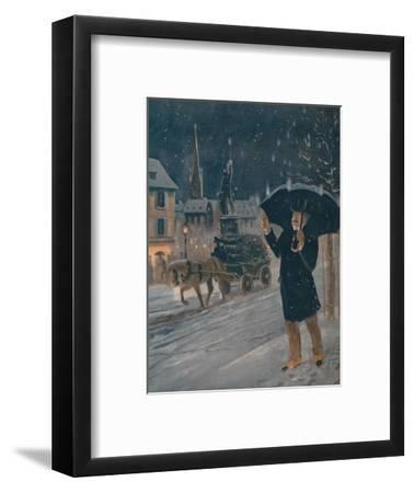 'The Strange Appearance of St. Elmo's Fire', 1935-Unknown-Framed Giclee Print