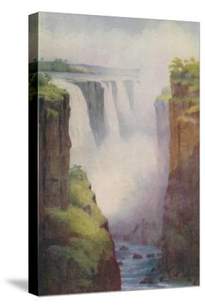 'Victoria Falls', 1924-Unknown-Stretched Canvas Print
