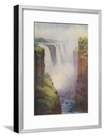 'Victoria Falls', 1924-Unknown-Framed Giclee Print