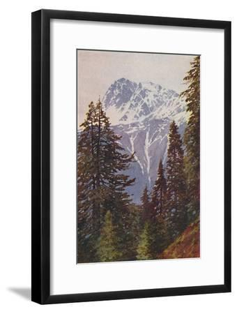 'Peak in the Himalayas', 1924-Unknown-Framed Giclee Print