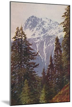 'Peak in the Himalayas', 1924-Unknown-Mounted Giclee Print