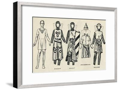 'The Gallery of British Costume: How The English Dressed in King John's Time', c1934-Unknown-Framed Giclee Print