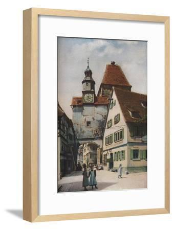'South Germany', c1930s-C Uchter Knox-Framed Giclee Print
