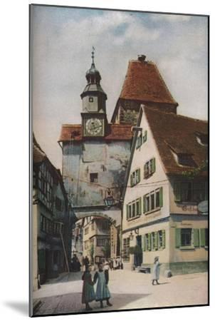 'South Germany', c1930s-C Uchter Knox-Mounted Giclee Print