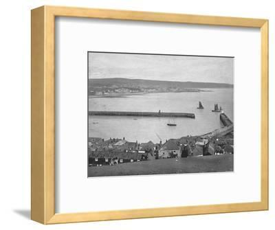 'Newlyn, near Penzance', c1896-Unknown-Framed Photographic Print