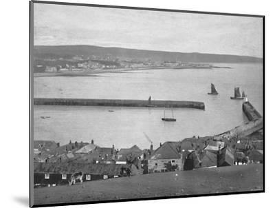 'Newlyn, near Penzance', c1896-Unknown-Mounted Photographic Print