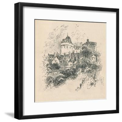'The Curfew Tower', 1895-Unknown-Framed Giclee Print