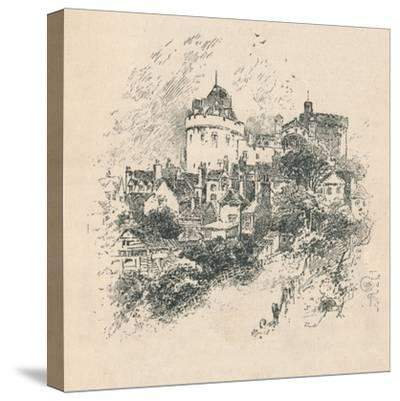 'The Curfew Tower', 1895-Unknown-Stretched Canvas Print