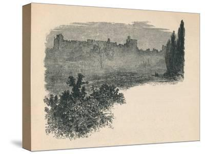 'Windsor Castle from the Home Park', 1895-Unknown-Stretched Canvas Print