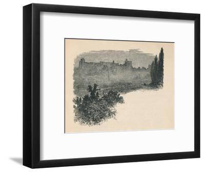 'Windsor Castle from the Home Park', 1895-Unknown-Framed Giclee Print