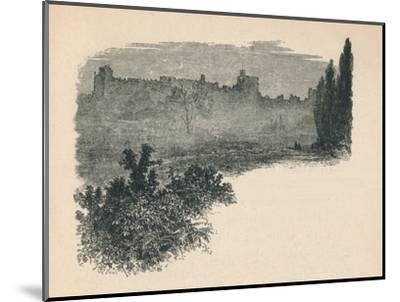 'Windsor Castle from the Home Park', 1895-Unknown-Mounted Giclee Print