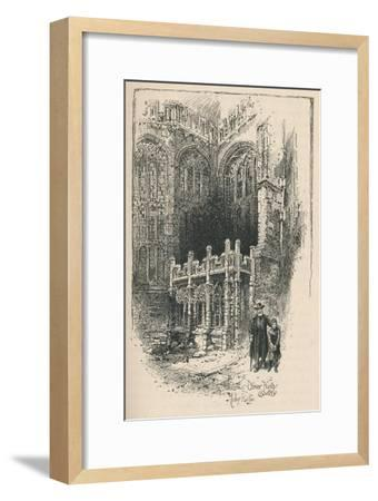 'Oliver King's Chantry', 1895-Unknown-Framed Giclee Print