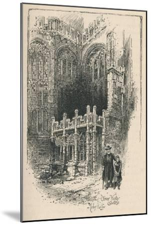 'Oliver King's Chantry', 1895-Unknown-Mounted Giclee Print