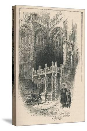 'Oliver King's Chantry', 1895-Unknown-Stretched Canvas Print