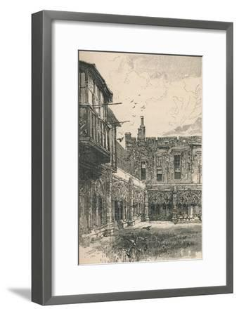 'The Outer Cloisters and Anne Boleyn's Window', 1895-Unknown-Framed Giclee Print