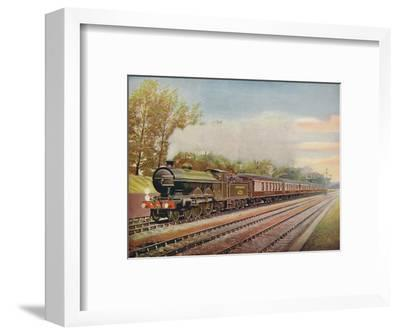 'The Southern Belle Express, Southern Railway', 1926-Unknown-Framed Giclee Print