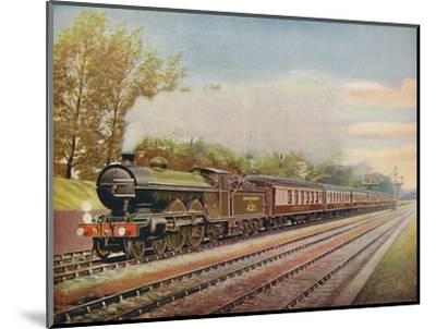 'The Southern Belle Express, Southern Railway', 1926-Unknown-Mounted Giclee Print