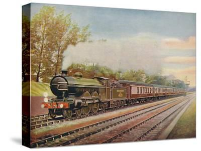 'The Southern Belle Express, Southern Railway', 1926-Unknown-Stretched Canvas Print