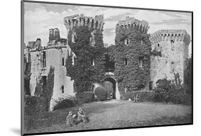 'Raglan Castle: The Gateway', c1896-GW Wilson and Company-Mounted Photographic Print