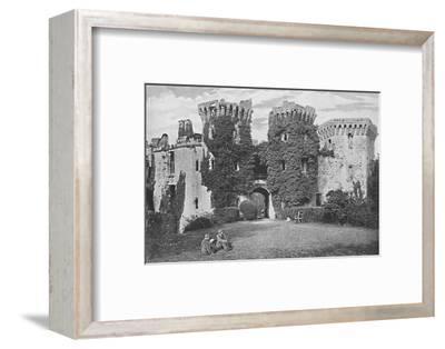 'Raglan Castle: The Gateway', c1896-GW Wilson and Company-Framed Photographic Print