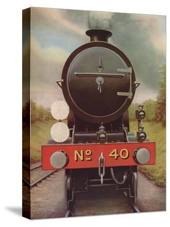 'Engine Headlamps and Discs on the Southern Railway', 1926-Unknown-Stretched Canvas Print
