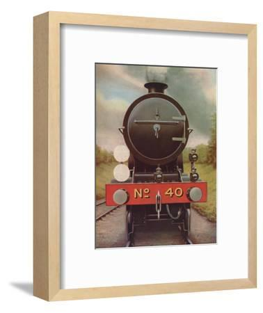 'Engine Headlamps and Discs on the Southern Railway', 1926-Unknown-Framed Giclee Print