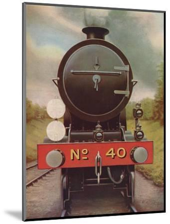 'Engine Headlamps and Discs on the Southern Railway', 1926-Unknown-Mounted Giclee Print