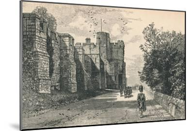 'North Terrace and Winchester Tower', 1895-Unknown-Mounted Giclee Print