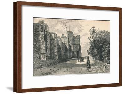 'North Terrace and Winchester Tower', 1895-Unknown-Framed Giclee Print