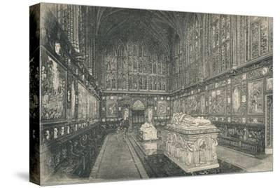 'The Albert Chapel', 1895-Unknown-Stretched Canvas Print