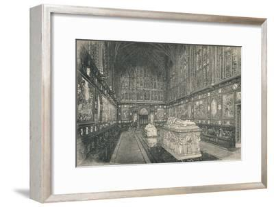 'The Albert Chapel', 1895-Unknown-Framed Giclee Print