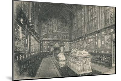 'The Albert Chapel', 1895-Unknown-Mounted Giclee Print