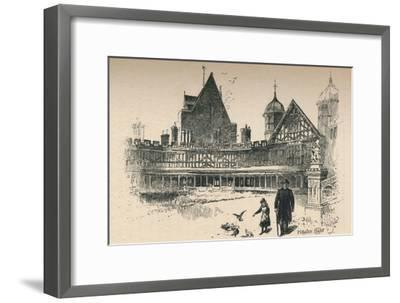 'Fetter-Lock, or Horse-Shoe, Cloister ', 1895-Unknown-Framed Giclee Print