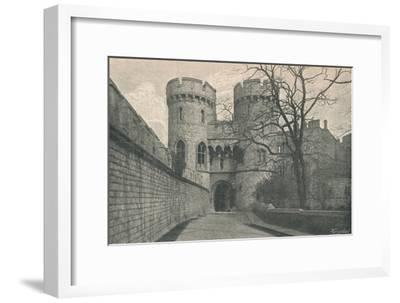 'Norman Gate', 1895-Unknown-Framed Giclee Print