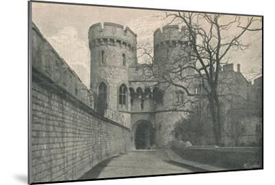 'Norman Gate', 1895-Unknown-Mounted Giclee Print