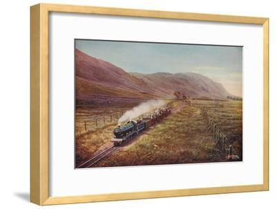 'The Smallest Passenger Railway in the World. In Eskdale, Cumberland', 1926-Unknown-Framed Giclee Print